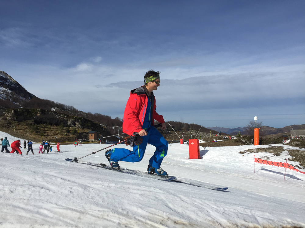 Gourette télémark ski béarn
