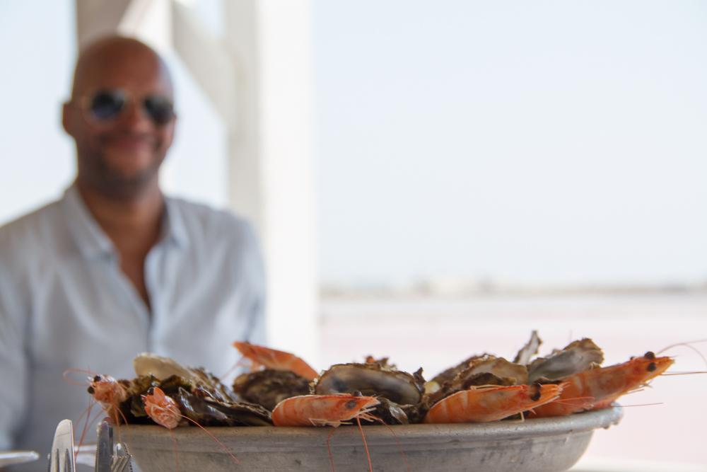 fruits de mer salins