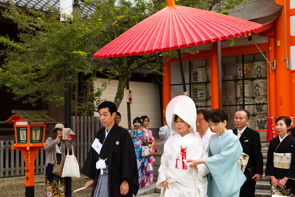 mariage traditionnel japon kyoto