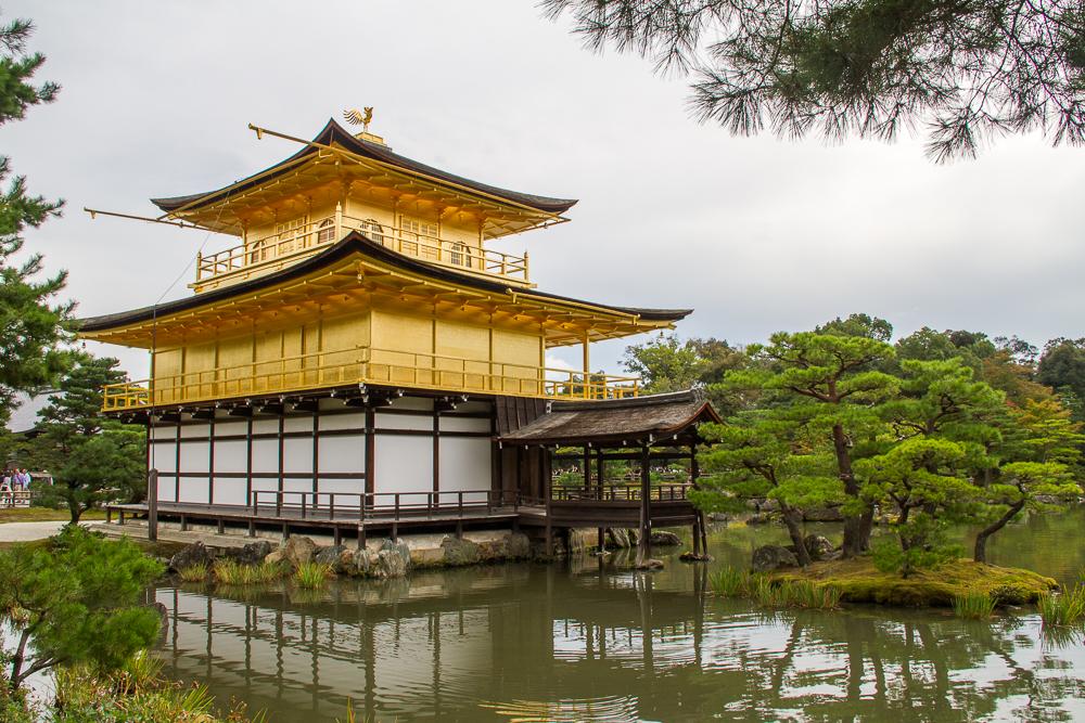 Kinkaku-ji pavillon d'or