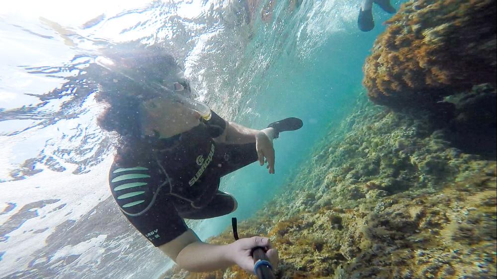 snorkeling Terres de l'Ebre