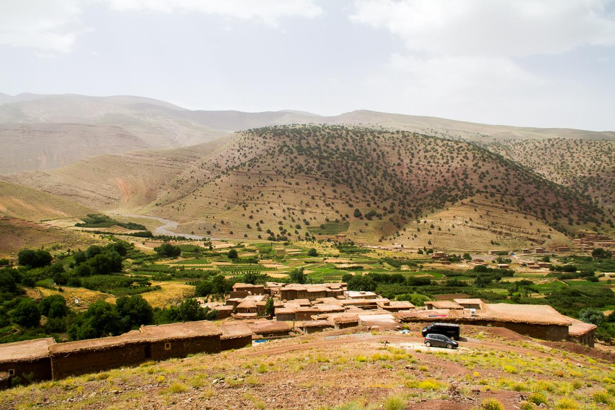 paysage maroc Touda ecolodge